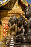 Buddha statues,Wat Phrathat Doi Suthep Royalty Free Stock Photo