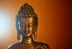 buddha statuette royaltyfri foto