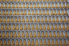 Buddha statuette, Kek Lok Si Temple, Penang, Malaysia Stock Images