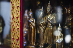 Buddha statuettes. Stock Photo