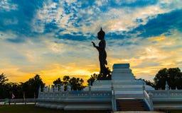 buddha statur Arkivfoto