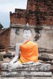 The buddha status Royalty Free Stock Image
