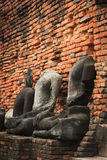 Buddha-Status an Famen Tempel Stockbilder