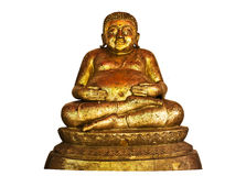 The Buddha status isolated Stock Photo