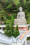 Buddha-Status am Kinn Swee Tempel Lizenzfreie Stockfotos
