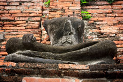 Buddha status på det Famen tempelet Royaltyfri Bild
