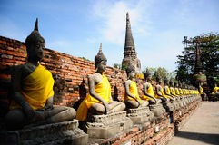 The Buddha status Stock Photo