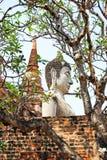 Buddha-Status an wat Yai chaimongkol lizenzfreie stockfotografie