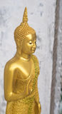 Buddha statute in the attitude of persuading the relatives not t Stock Photo