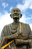 Buddha statue. The buddha statute with clear sky in behind royalty free stock images