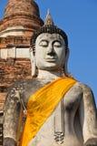 buddha statuy świątynia Obraz Royalty Free