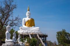buddha statuy biel Zdjęcia Stock