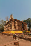 buddha statuy ściana Zdjęcia Stock
