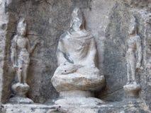 Buddha statuy Fengxian świątynia Zdjęcia Royalty Free
