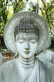 buddha statuy kamień Obrazy Stock