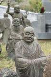 buddha statuy kamie? obrazy stock