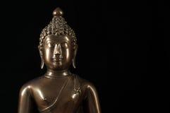 Buddha statuy portret Obrazy Royalty Free