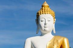 Buddha statuy przy Watem Doi Kham Obrazy Royalty Free