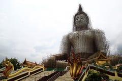 Buddha statuy przywrócenie fotografia stock