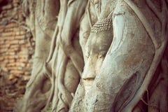 Buddha statuy rocznik Zdjęcie Royalty Free