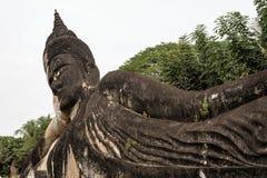 Buddha statuy w Buddha parku w Vientiane, Laos fotografia royalty free