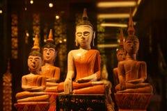 Buddha statuy wzrok obraz stock