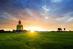 buddha staty Arkivfoton