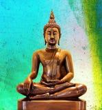 Buddha staty. Royaltyfri Bild