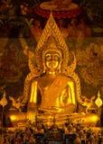 Buddha staty i Thailand Royaltyfria Bilder