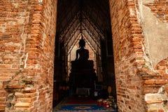 buddha staty thailand Arkivbild