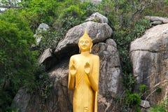 buddha staty thailand Arkivbilder