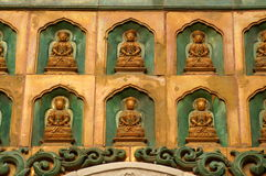 buddha statyer Arkivbild