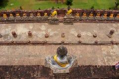 buddha statyer Arkivbilder