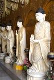 buddha statyer arkivfoto