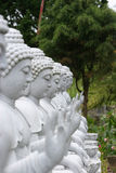 buddha statyer Arkivfoton