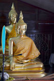 buddha statyer Royaltyfri Fotografi