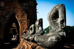 buddha statyer thailand royaltyfri fotografi