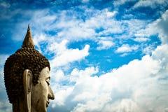 buddha statyer thailand Arkivfoto