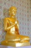 buddha statytempel arkivfoto