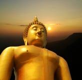 Buddha stawia czoło z ścinek ścieżką Zdjęcie Stock