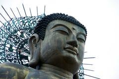 Buddha stellen gegenüber Stockbild