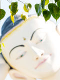 Buddha stellen gegenüber Lizenzfreies Stockfoto