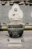buddha sten Royaltyfri Fotografi