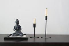 Buddha-Stillleben Lizenzfreies Stockfoto