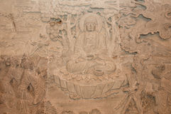 Buddha Stone Carving Stock Photos