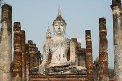 Buddha stone statue Stock Photos