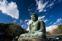 buddha stora japan Royaltyfria Bilder
