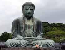 buddha stora japan Fotografering för Bildbyråer