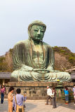 buddha stora kamakura Royaltyfri Fotografi
