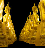 Buddha studded side Royalty Free Stock Photography